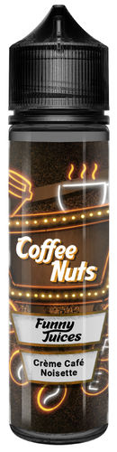 FUNNY JUICE - Coffee Nuts BASE 50ml